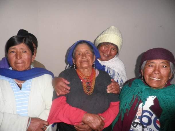 Indijanske žene iz plemena Kichu, snimila: J. Klisović