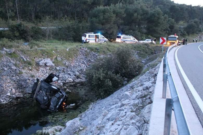Prometna nesreća kraj Grebaštice (Foto H. Pavić) (19)