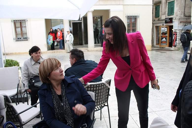 Ruža Tomašić u Šibeniku (Foto H. Pavić) (1)