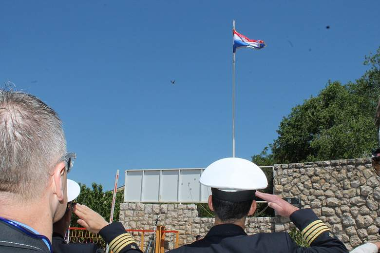 Goran Prgin na svečanom podizanju zastave u Remontu: '91. su se vodile krvave bitke za Hrvatsku, danas se vode za brodogradilište