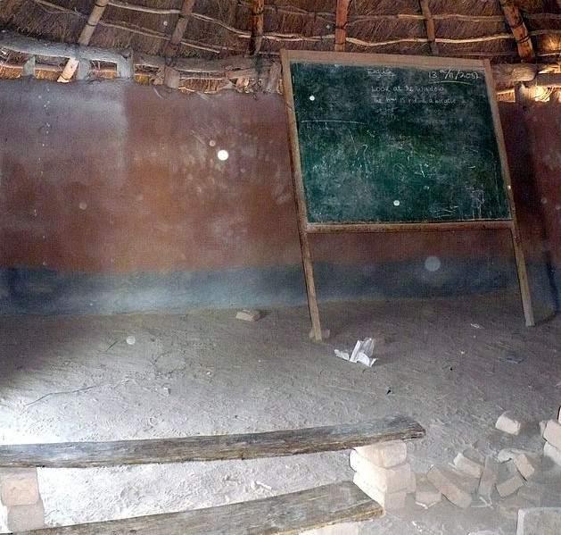 Škola u Zambiji (ilustracija Wikimedia Commons)