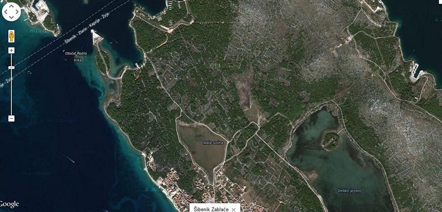 Pogled iz satelita govori više od riječi (foto: Google)
