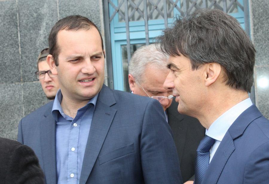 Ivan Klarin i Ministar Branko Grčić (Foto: H. Pavić)