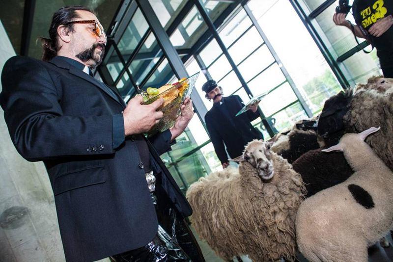 Mrle i ovce u muzeju (foto: www.ravnododna.com)Mrle i ovce u muzeju (foto:www.ravnododna.com)
