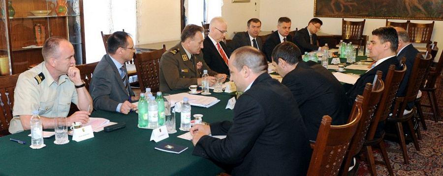 Sjednica Vijeća za nacionalnu sigurnost (foto: Ured predsjednika RH)