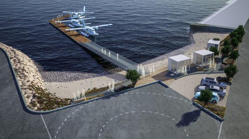 """Uskoro kreće """"morsko-zračna magistrala"""" vrijedna ukupno 35 mil. eura – Prvi letovi hidroaviona iz Resnika prema otocima već početkom kolovoza"""