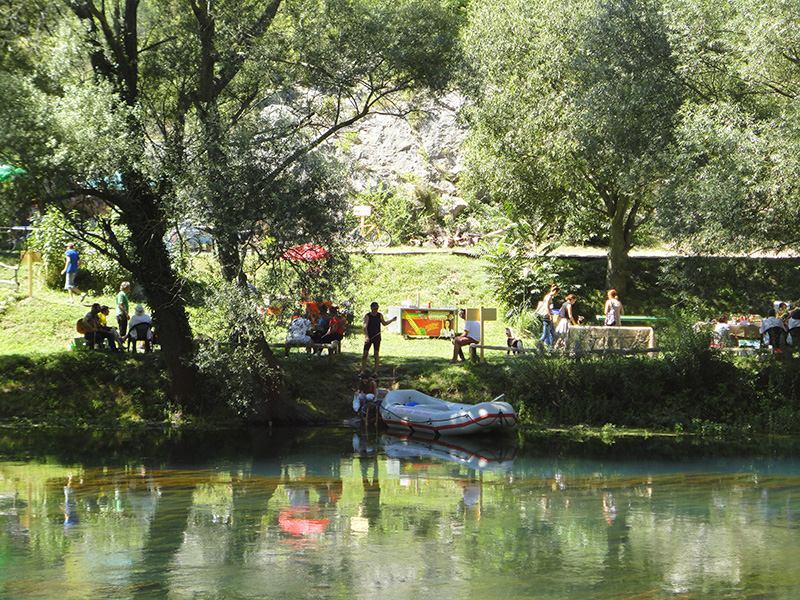 Ekološko informativni centar EUKK kod Krke  (foto TRIS/G. Šimac)