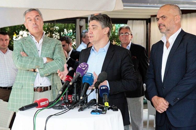 Sastanak u Cavtatu (izvor Vlada RH)
