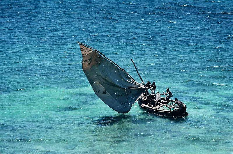 Ilustracija: jedrilica u Mozambiku (foto: Wikimedia Commons)