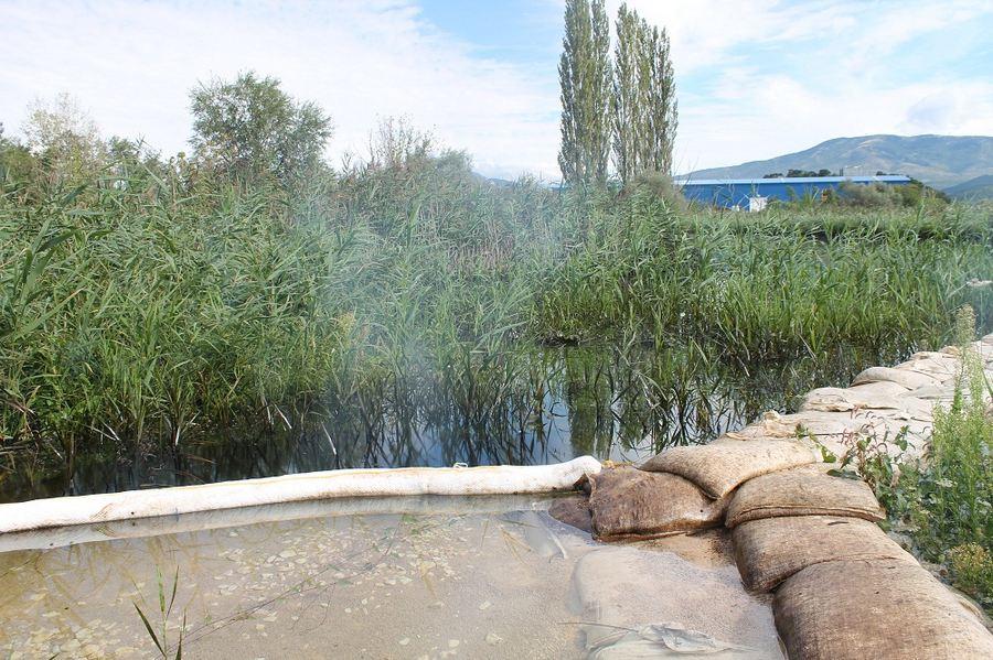Kiše počistile kninsku lagunu mazuta (Foto H. Pavić) (18)