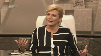 Kolinda Grabar Kitarović u HRT-ovoj emisiji Nedjeljom u 2: Legalizacija marihuane? Ajme, nisam sigurna…