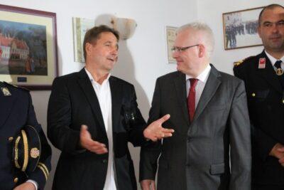 Stipe Petrina i Ivo Josipović (Foto: Hrvoslav Pavić)