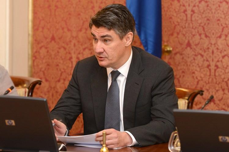Premijer Zoran Milanović (Foto Vlada RH)
