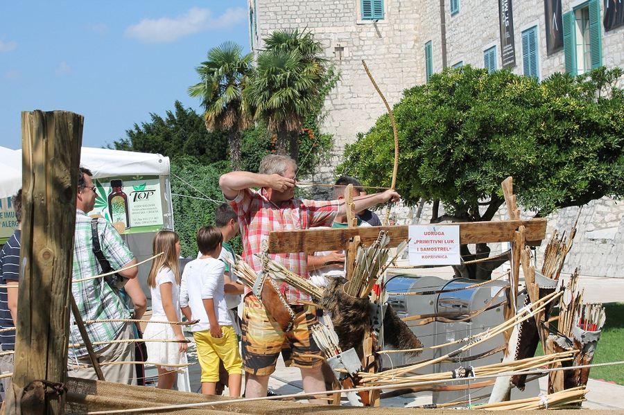 Sajam u srednjovjekovnom Šibeniku - zatvaranje (Foto H. Pavić) (8)