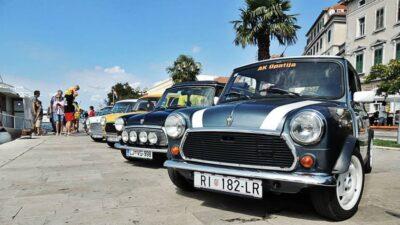 Giro di Dalmatia 4: Sedamdeset Mini Morrisa dolazi na šibensku rivu
