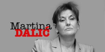 Portret tjedna/Martina Dalić, bivša HDZ-ova ministrica financija: Signalna raketa koja ocrtava našu katastrofu