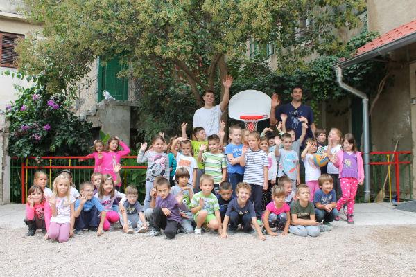 Draženu u čast - košarka u dječjem vrtiću 'Varoš'