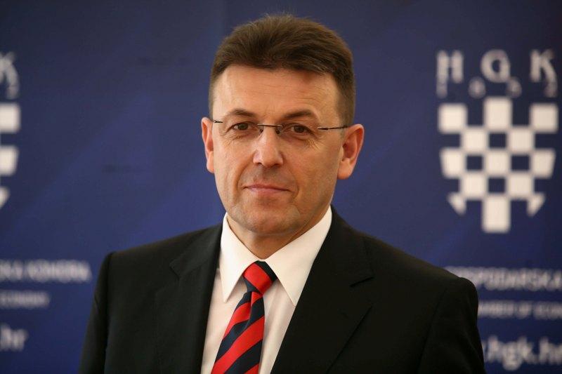 Luka Burilović, predjsednik HGK