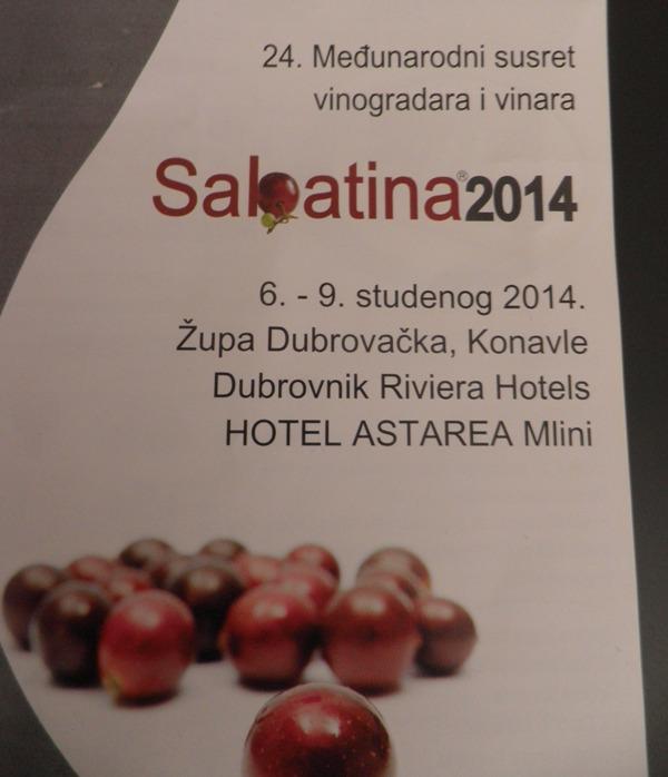 Vinari i vinogradari Hrvatske spremni za Sabatinu 2014.