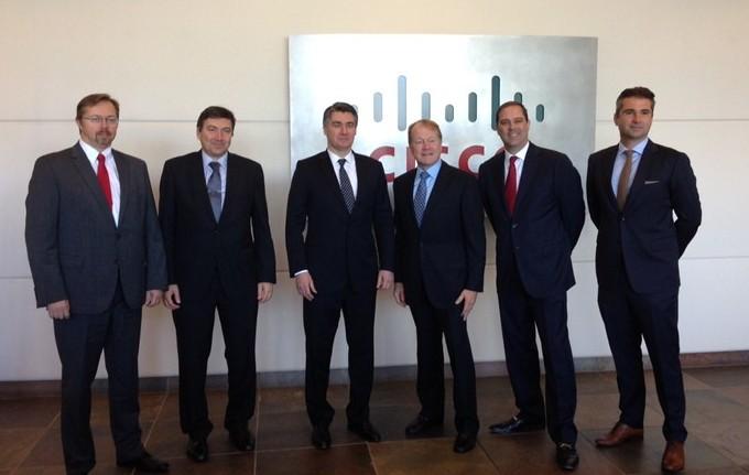 Premijer i ostali u San Joseu (izvor: vlada.gov.hr)