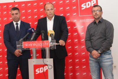 Šibenski SDP: Križanje na Baldekinu kao spomenik nesposobnosti HDZ-ove vlasti