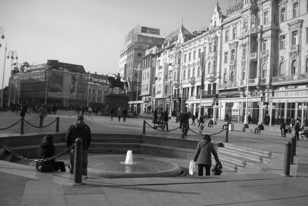 Trg bana J. Jelačića (foto TRIS)