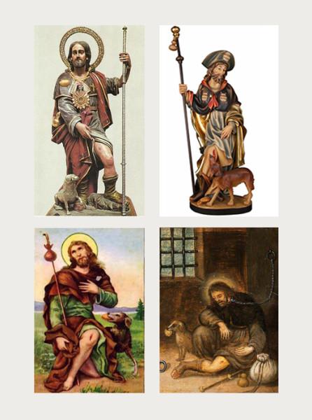 Povijesni prikazi sv. Roka
