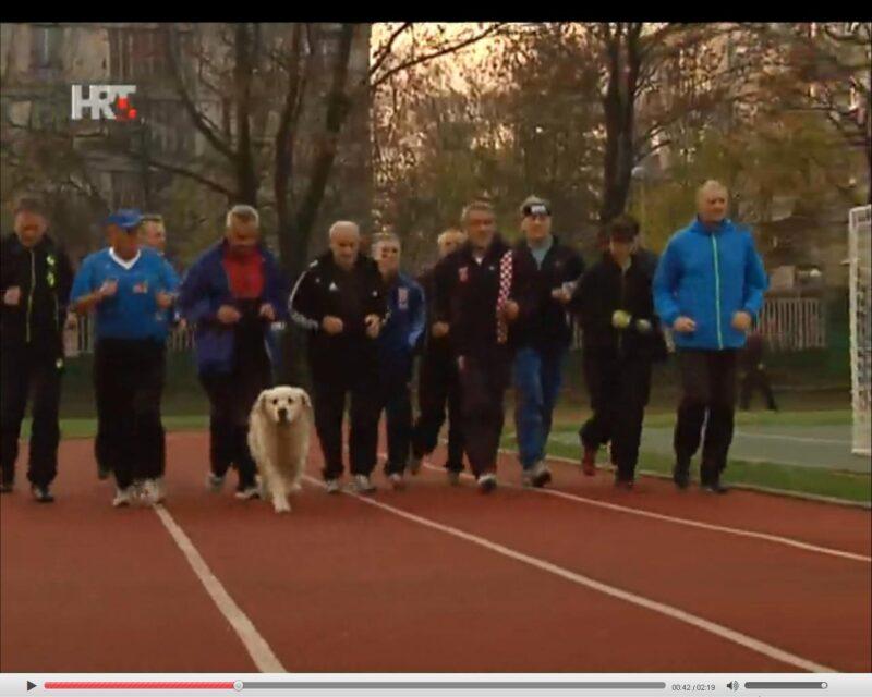 Bandić i družina trčkaraju (foto screenshot HTV)
