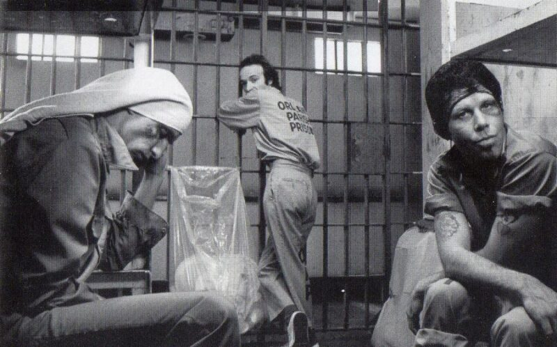 John Lurie, Roberto Benigni i Tom Waits kao zatvorenici filmu  Down By Law (printscreen)