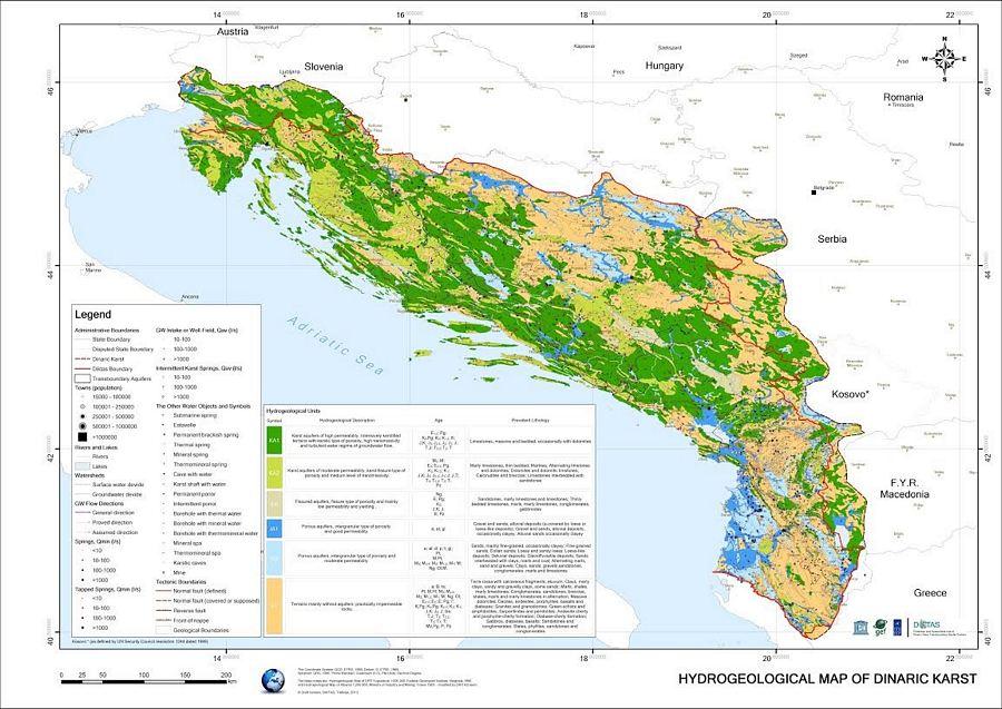 Karta podzemnih voda