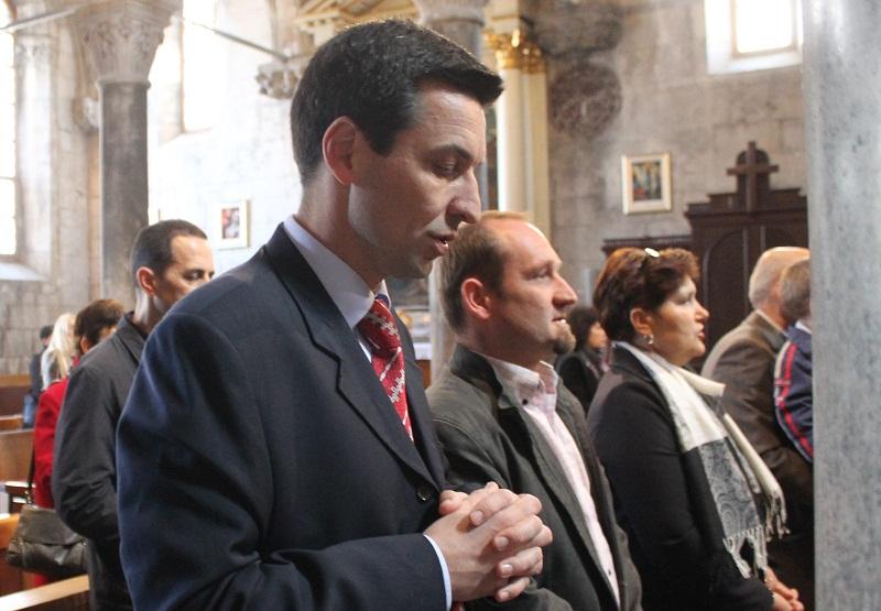 Ladislav Ilčić u katedrali sv. Jakova u Šibeniku (Foto H. Pavić) (1)