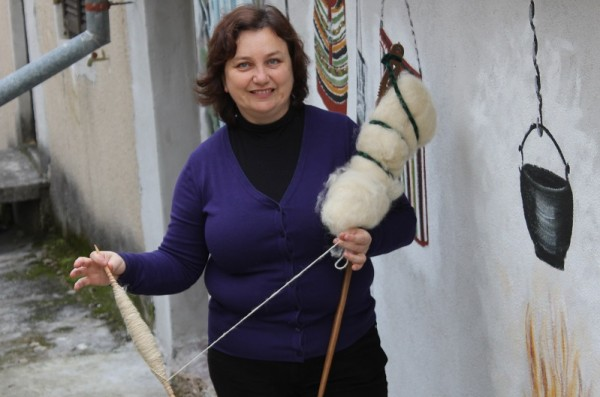 Ojdana Vještica, predsjednica udruge (Foto: Hrvosla Pavić)