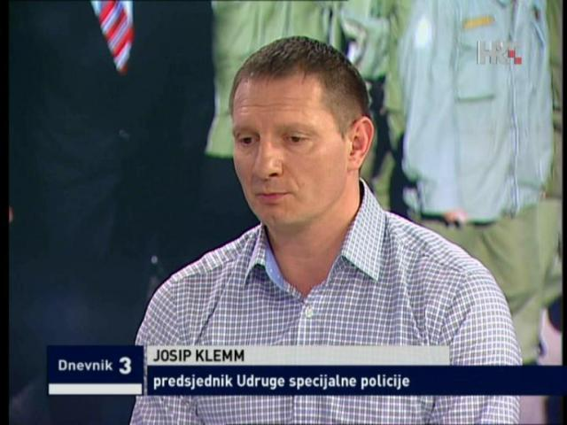 Portret tjedna/Josip Klemm, predsjednik udruge Specijalne policije iz Domovinskog rata: Zatvor? Neće moći!