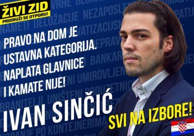 """Predsjednički izbori : Josipović i Grabar Kitarović pod Sinčićevim """"šatorom"""""""