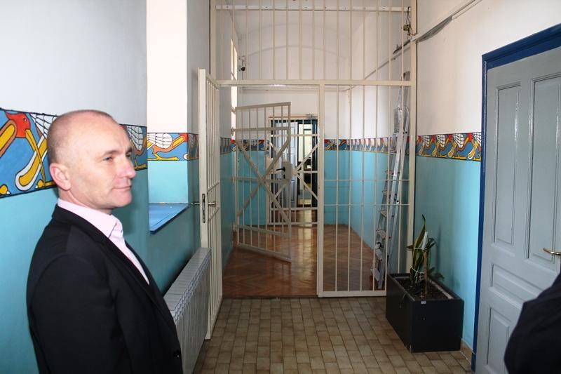 Bare Grubelić, upravitelj Zatvora i kaznionice u Šibeniku (Foto: H. Pavić)