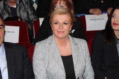 """Je li Kolinda Grabar Kitarović HDZ-ov Andrija Hebrang """" u suknji""""?"""