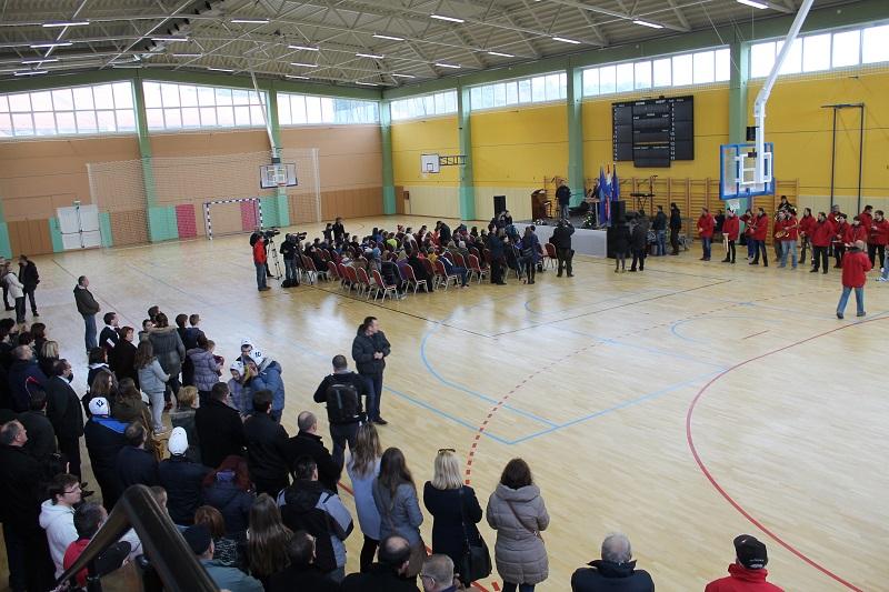 Otvaranje sportske dvorane u Tisnom -  HČSP-ovci ovdje neće igrati (Foto: H. Pavić)