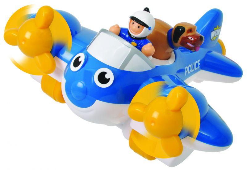 Policijski avion - igračka (ilustracija) - foto Facebook