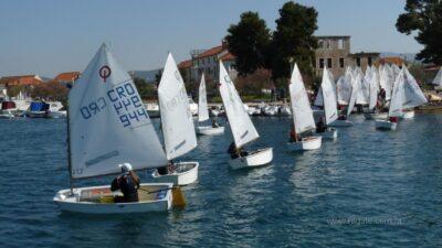 Velika regata optimista Solaris Cup ušla u drugi dan (fotogalerija)