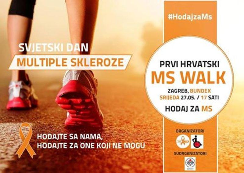 Oboljeli od multiple skleroze u Hrvatskoj na lijek za usporavanje bolesti čekaju 2 i više godina- Hodajmo za one koji to ne mogu!