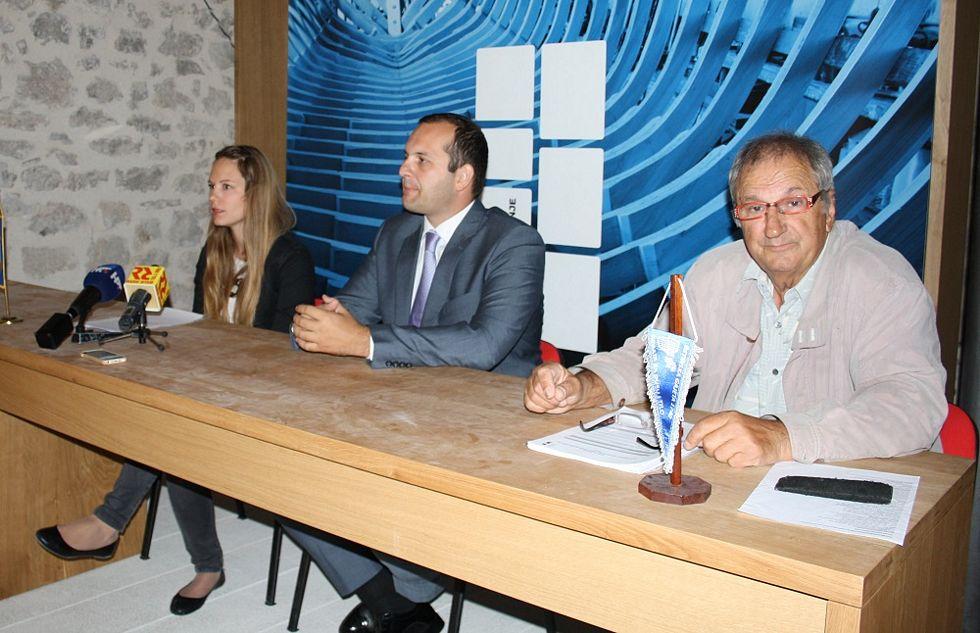 Kate Šikić-Ćubrić, Ivan Klarin i Đenko Šandrić (Foto: Tris/H. Pavić)