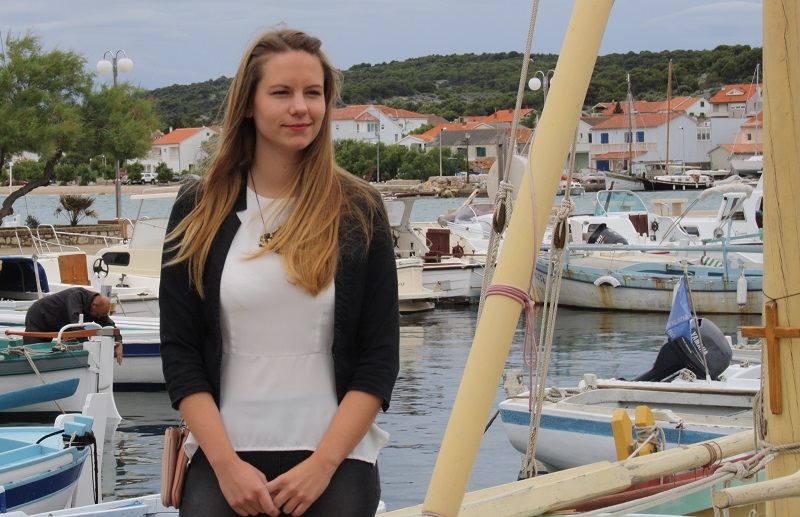 Ravnateljica Muzeja betinske brodogradnje Kate Šikiž-Čubrić (Foto: H. Pavić)