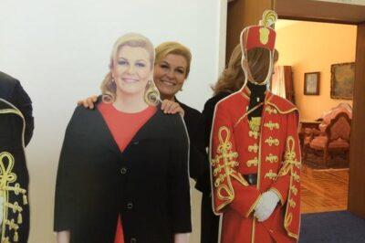 Ilustracija: Predsjednica RH  (foto Facebook)