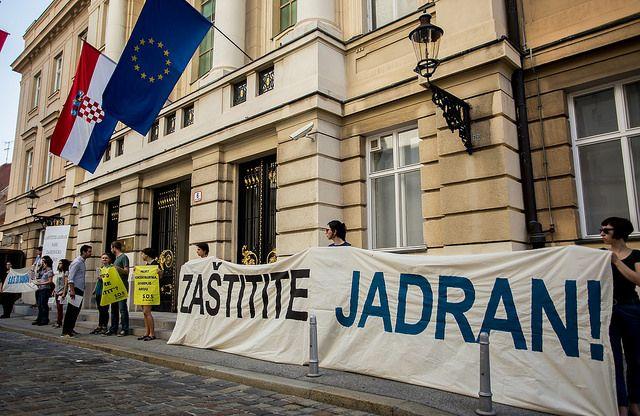 Prosvjed (foto Ivan Šejić)