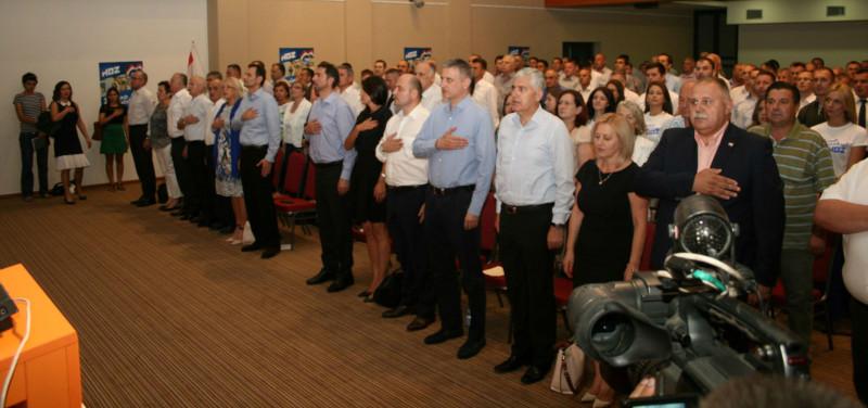 Klauzura HDZ-a za 11 izbornu jedinicu (Foto: HDZ)