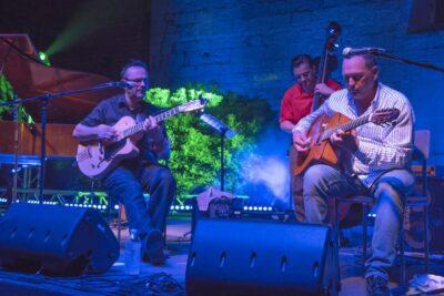 Rosenberg Trio na OFf-u (Foto: Regina Koštan)