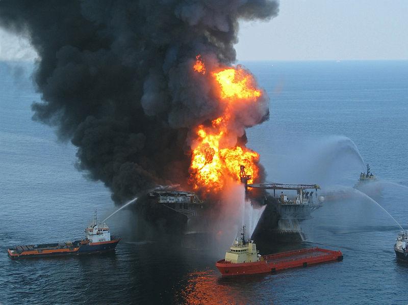 Priroda nafte: eksplozija u Meksičkom zaljevu (foto Wikipedia)