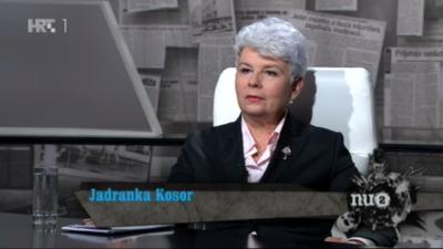 Jadranka Kosor (Printscreen Nu2)