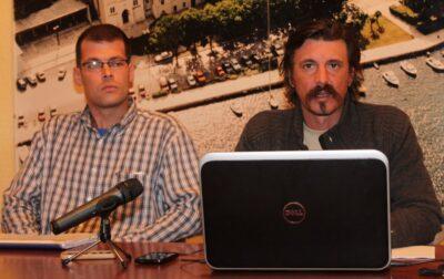 Petar Trebotić i Slave Lukarov - konferencija za novinare Supertoona (Foto: Tris/H. Pavić)