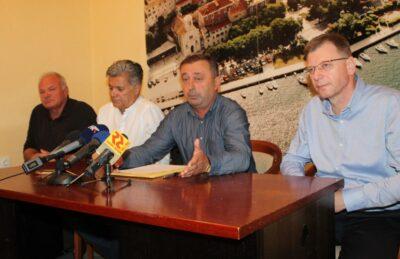 Čedo Petrina, Selimir Vukušić, Paško Erak i Josip Svračić (Foto: Tris/H. Pavić)